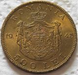 Moneda istorica 500 LEI - ROMANIA REGAT, anul 1945   *cod 5353 = UNC