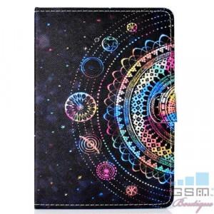 Husa Samsung Huawei Lenovo Tableta 8,0 inch Flip Cu Stand Neagra