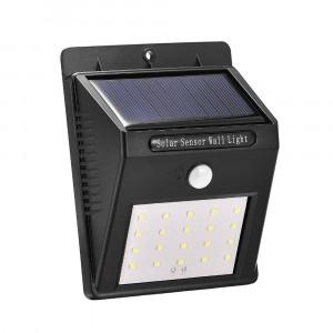 Lampa solara cu senzor de miscare, 24 led-uri