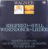 Vinyl Wagner / Naděžda Kniplová, Czech Philharmonic Orchestra, 1972