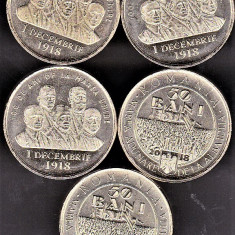 50 bani 2018 comemorativ 100 de ani de la Marea Unire 1.dec.1918 din fisic UNC