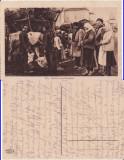 Tipuri din Romania- port national-Piata -militara WWI, WK1
