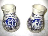633-5 Stacane vin copilasi carand ciorchini struguri-In vino veritas ceramica.