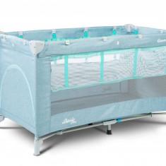 Patut pliabil Caretero Basic Plus Blue