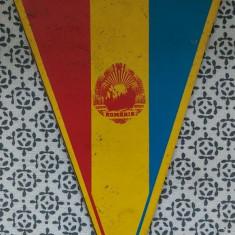 Fanion Romania -Italia 1983