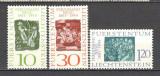 Liechtenstein.1965 100 ani nastere F.Nigg-grafician  KM.324