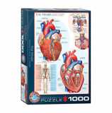Cumpara ieftin Puzzle Eurographics - The Heart, 1000 piese
