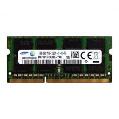Memorie laptop Samsung sodimm 8GB DDR3L PC3L-12800s 1600Mhz 1.35V, M471B1G73QH0-YK0
