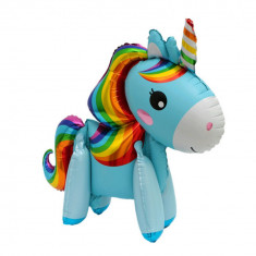 Balon folie Unicorn magic 3d Rainbow Dash 80 cm