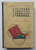Culegere de exerciții și probleme de matematică - Gr. Gheba