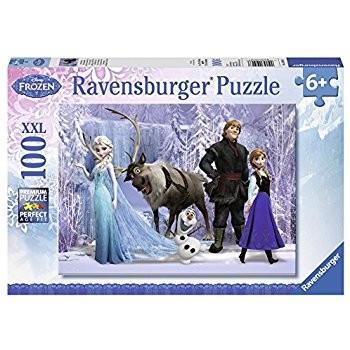 Puzzle Frozen 4 X 100 Piese foto