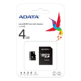MICRO SD CARD 4GB CU ADAPTOR ADATA EuroGoods Quality