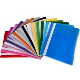 Cumpara ieftin Dosar plastic cu sina si perforatii EXXO pentru documente