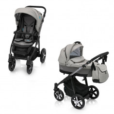 Baby Design Husky Winter Pack 07 Grey 2018 - Carucior Multifunctional 2 in 1 foto