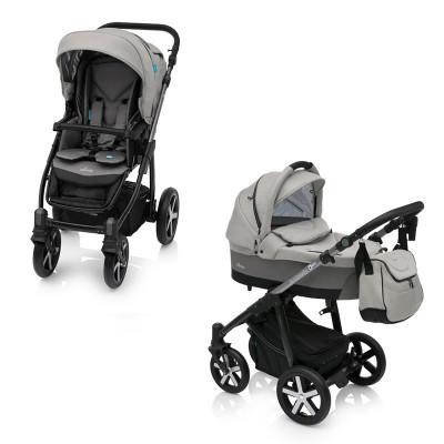 Baby Design Husky Winter Pack 07 Grey 2018 - Carucior Multifunctional 2 in 1 foto