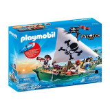 Playmobil Pirates - Barca piratilor cu motor