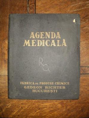 Agenda medicala, Fabrica de produse Chimice Gedeon Richter Bucuresti foto