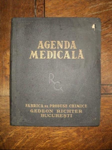 Agenda medicala, Fabrica de produse Chimice Gedeon Richter Bucuresti