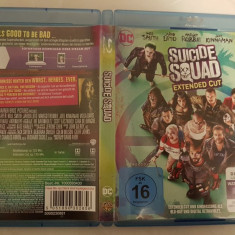 [Bluray] Suicide Squad - Extended Cut  - film original bluray, BLU RAY, Engleza