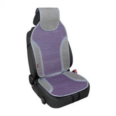 Pachet Perna scaun din bambus flower Fashion Fresh, Lampa + Suport magnetic Tellur MCM3 pentru ventilatie, plastic, Negru