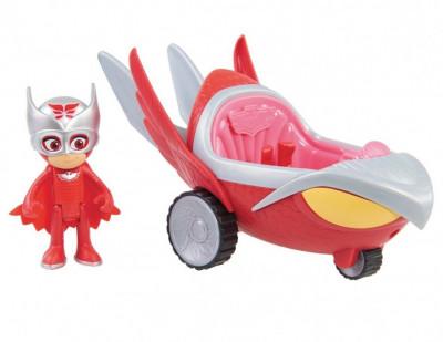 Figurina Bufnita + vehicol Bufni Planor Turbo Blast foto