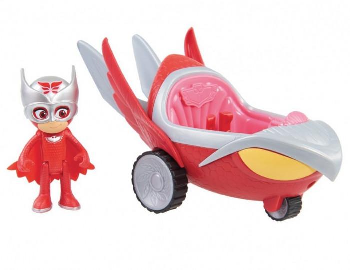 Figurina Bufnita + vehicol Bufni Planor Turbo Blast