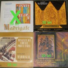3 vinyl Corul de cameră Madrigal ,dau si separat la preturile din poza, VINIL
