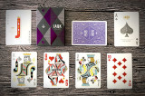 Carti de joc Jaqk Cellars Purple - Amethyst Theory11 playing cards