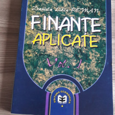 Finante aplicate, vol. 1