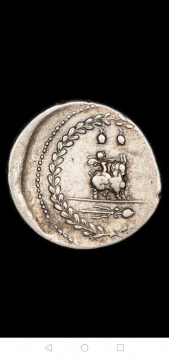 Moneda-Impreiu Roman - Denarius - Mn. Fonteius C. f. Rome mint.