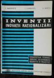 INVENTII .INOVATII.RATIONALIZARI -L.MARINETE /I.CAMENITA/V.IANCU