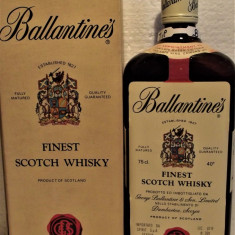 WHISKY finest scotch whisky ballantines  80 , CL 75 GR 40