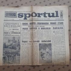 Ziarul SPORTUL ×  24 IUNIE 1968
