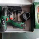 Bosch filetanta + laser + 2 cutii spirale / șurubelnia full / ORIGINAL