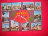 HOPCT 44103  PARIS -HARTA FRANTA -STAMPILOGRAFIE-CIRCULATA