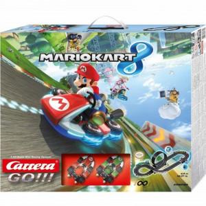 Circuit electric masinute Mario si Luigi Mariokart Carrera Go 4,9 m