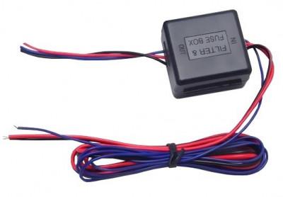 Filtru stabilizator 12V camera marsarier si senzori de parcare foto