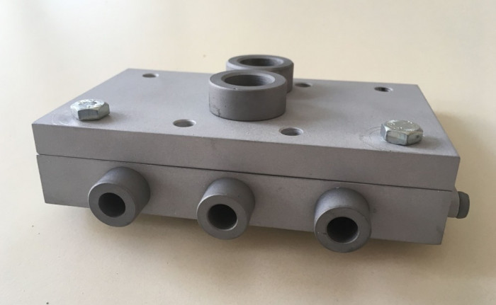 Sablon mobila minifix15 de 24 sau 34mm duraluminiu forma