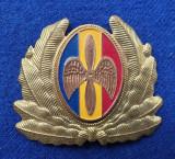 Insigna Militara Ofiter AVIATIE PILOT - Coifura - insemn cascheta - CUC
