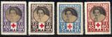 1945 LP165 serie Crucea Rosie MNH, Organizatii internationale, Nestampilat