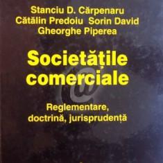 Societatile comerciale - Reglementare, doctrina, jurisprudenta
