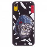 Husa Hard iPhone XR Gorilla Saru Skinarma Alba