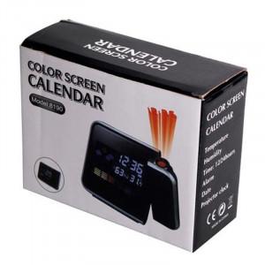 Ceas cu proiectie DS-8190, LCD, alarma