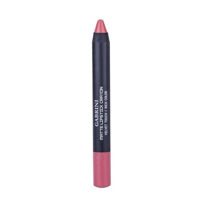 Ruj Creion de buze Gabrini Matte Lipstick Crayon 04