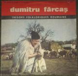 Vinyl Dumitru Farcas-taragot, seria Tresors Folkloriques Roumains,Epe 0896, VINIL