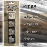 Tim Holtz Distress Mini Ink Kits-Kit #3