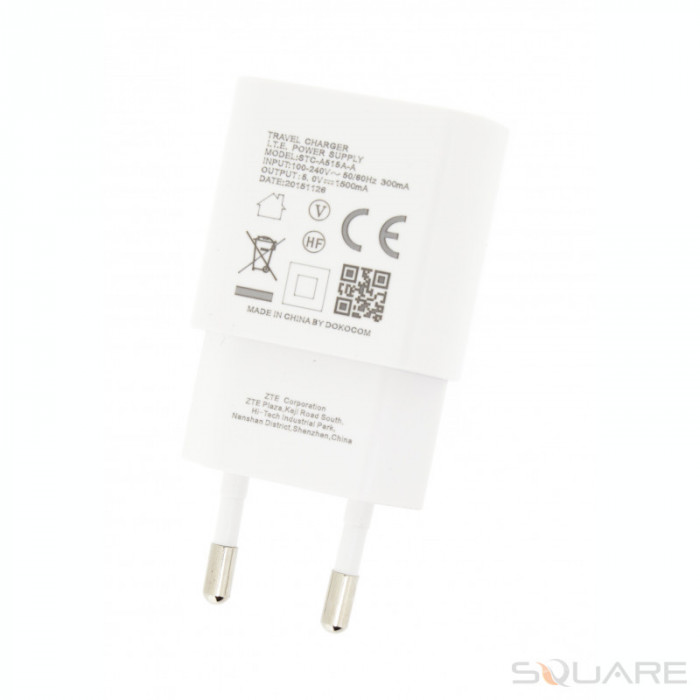 Incarcatoare ZTE STC-A515A-A, 1500 mah, White