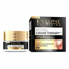 Crema-masca de noapte Eveline Cosmetics Royal Caviar Therapy 50ml