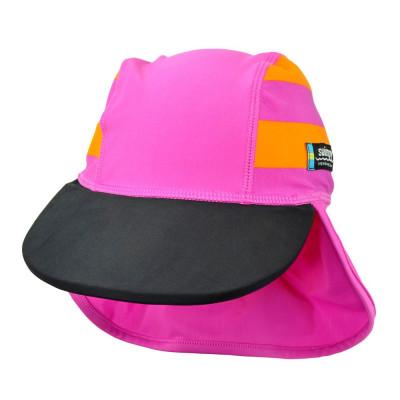 Sapca Sport pink 4- 8 ani protectie UV Swimpy for Your BabyKids foto