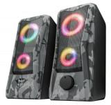 Boxe Trust 606 JAVV 2.0, RGB LED, 6W (Camuflaj)